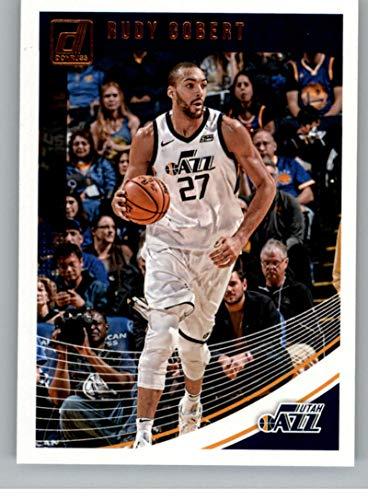 - 2018-19 Donruss #93 Rudy Gobert Utah Jazz Basketball Card