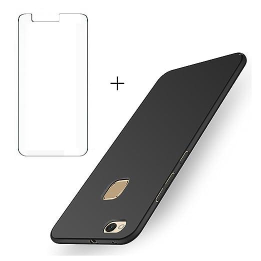 3 opinioni per BLUGUL Cover Huawei P10 Lite + Gratuito Pellicola Protettiva, Ultra Sottile,