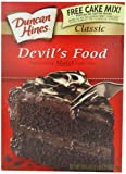 Duncan Hines Signature Devil's Food Cake Mix, 16.5-Ounce Boxes (Pack of 6)