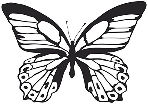 Butterfly Clear Stamp<br><b>Acrylic Block not included</b>