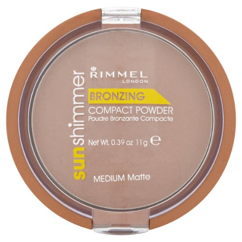 (Rimmel Sun Shimmer Bronzing Powder Medium Matte)