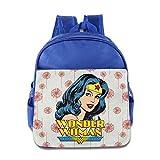 GYB HOME Unisex Wonder Woman Children School Bag Backpack