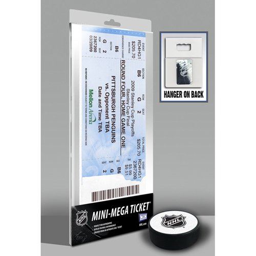 2009 Stanley Cup Mini-Mega Ticket - Pittsburgh Penguins