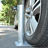 TStore Pole Holder 2.4'' D. Metal Tire Mount Tailgate Wheel Stand Flag Pole 25' 20' FT