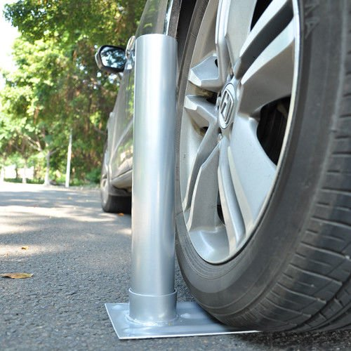 "2.4"" D. Metal Tire Mount Tailgate Wheel Stand Flag Pole Pole Holder 25' 20' FT by Unknown"