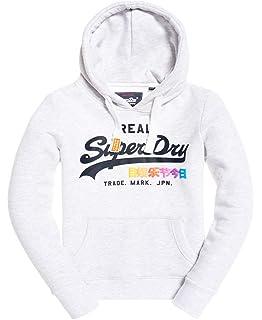 Superdry Women's Label Ziphood Jumper: Amazon.co.uk: Clothing