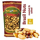 We Got Nuts Roasted Salted Brazil Nuts 2 Lb Bag . (2lb)
