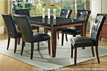 Steve Silver Company Granite Bello Dining Table, 42 x 70 x 31