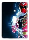 Red Power Ranger Light Switch Cover