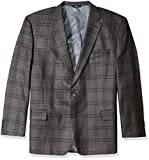 Haggar Men's Big and Tall B&t Plaid Lambswool Classic Fit Sport Coat Reviews