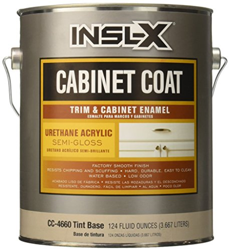 INSL-X PRODUCTS CC4660092-01 Tint Semi-Gloss Cabinet Enamel, 1 gallon (Tint Semi)