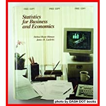 Statistics for Business and Economics by Debra Olson Oltman (1990-12-29)