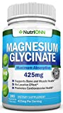 Magnesium Glycinate - 400 mg - 180 Tablets - Maximum Absorption - Chelate