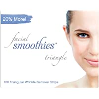Facial Smoothies TRIANGLE Wrinkle Remover Strips, 108 Triangular Anti-Wrinkle Patches