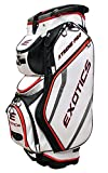 Tour Edge Exotics Extreme Pro Deluxe Cart Bag (Men's, Exotics Extreme Pro Deluxe Cart Bag White) ()