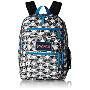 "JanSport Mens Classic Mainstream Big Student Overexposed Backpack - Multi Marble Prism / 17.5""H X 13""W X 10""D"