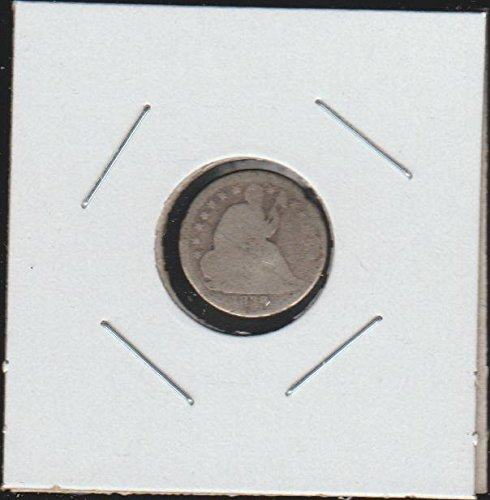 1838 Liberty Seated Half Dime About Good