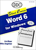 Short Course Word 6 for Windows, Blanc, I., 1562432672