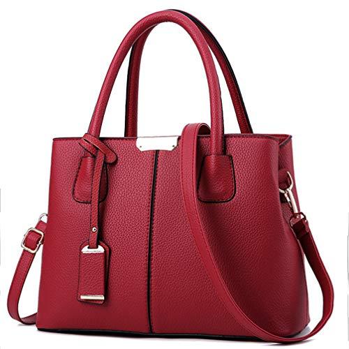 (COCIFER Women Top Handle Satchel Handbags Shoulder Bag Tote Purse Messenger Bags)