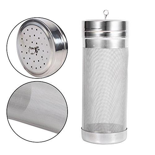 Beer Dry Hopper Filter,304 Stainless Steel Hopper Spider Strainer 300 Micron Mesh Tea Kettle Brew Filter by Fdit (Image #7)