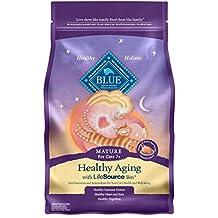 Blue Buffalo Mature Cat Formula Dry Cat Food, 3 lb Bag