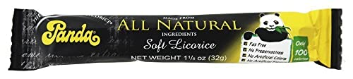 Panda Licorice Bars, Natural, 36 Count