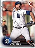 2016 Bowman Prospects #BP91 Michael Fulmer Detroit Tigers Baseball Card in Protective Screwdown Display Case