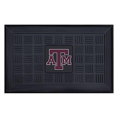 A&m Aggies Water Texas (NCAA Texas A&M University Aggies 3-D Team Medallion Vinyl Door Mat)