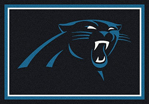 Carolina Panthers NFL Team Spirit Area Rug by Milliken, 3'10