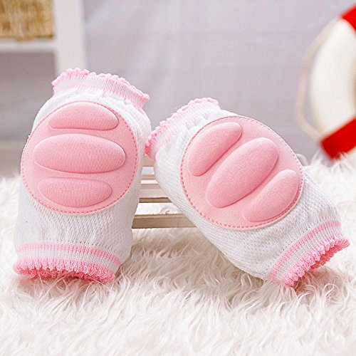 niceeshop(TM) Infant Toddler Baby Knee Pad Crawling Safety Protector,Pink