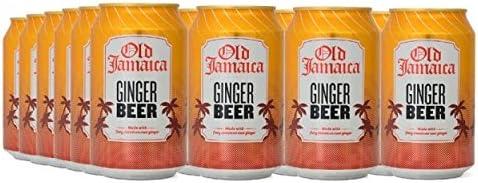 Old Jamaica Refresco con Gas, Sabor Jengibre - Paquete de 24 x 330 ml - Total: 7920 ml