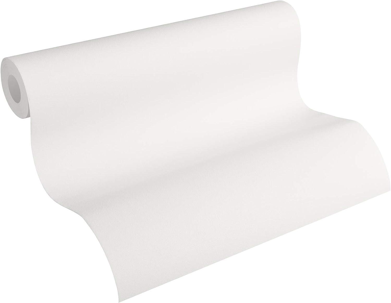 YUKIKO Papier Peint intiss/é Moderne 53 x 1000 cm 1000 Reiswei/ß 53cm