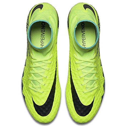 Nike Hypervenom Fantom Ii Fg Volt / Svart Hyper / Turq Clr Jade Skor
