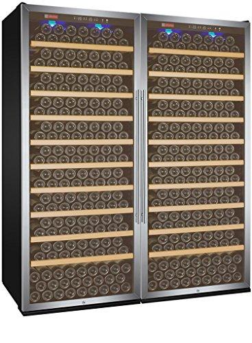Allavino 2X-YHWR305-1ST Vite Series 610 Bottle Single-Zone Wine Refrigerator – Side-by-Side