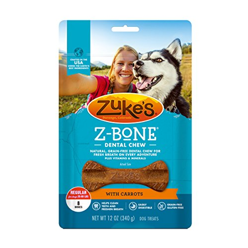 Zuke's Z-Bone Dental Chew Dog (Good Breath Dog Bone)