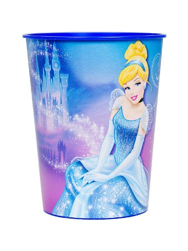 Disney's Cinderella Sparkle 16 oz. Souvenir Cup (One cup per order)
