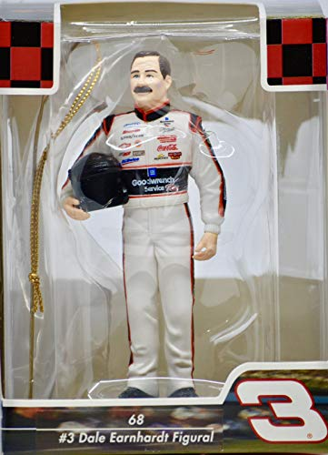 - 2003 - NASCAR - Dale Earnhardt #3 - Figural Collectible Ornament - 4 Inches Tall - Mint