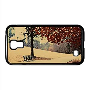 lintao diy Autumn In The Park Watercolor style Cover Samsung Galaxy S4 I9500 Case (Autumn Watercolor style Cover Samsung Galaxy S4 I9500 Case)