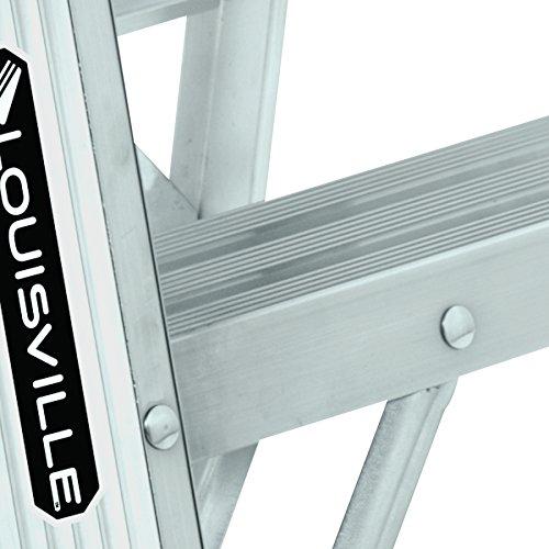 Louisville Ladder AS3002, Aluminum Stepladder, 300-Pound Capacity, 2-Foot by Louisville Ladder (Image #7)