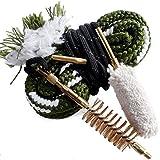 Unigear Gun Bore Cleaner Barrel Snake for Rifle Pistol Shotgun, Brushes Included (Choose Your Caliber)
