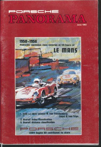 PORSCHE PANORAMA Rally Program Design Posters John Clark Ghost Turbo 6 1983 ()