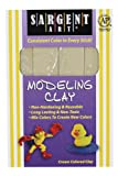 Sargent Art 22-4000 1-Pound Solid Color Modeling Clay, Cream