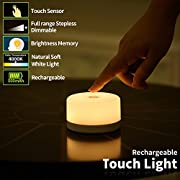 FC-Fancier Dimmable Touch Light,Bedside lamp, Kids Children Adult Nightlight,Bedroom Living Room Baby Nursery Night Light