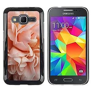 rígido protector delgado Shell Prima Delgada Casa Carcasa Funda Case Bandera Cover Armor para Samsung Galaxy Core Prime SM-G360 /Pink Rose Blossom Close-Up/ STRONG