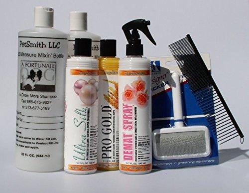 Pomeranian Coat Care Grooming Kit FREE BONUS by Kelco