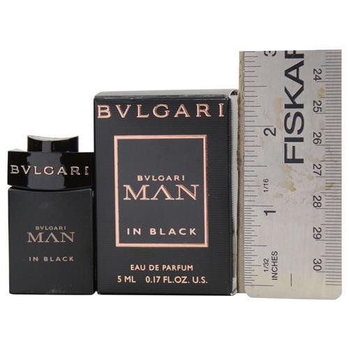 Bvlgari Man In Black Eau de Parfum Mini Splash .17oz/5ml… by BVLGARI (Image #1)