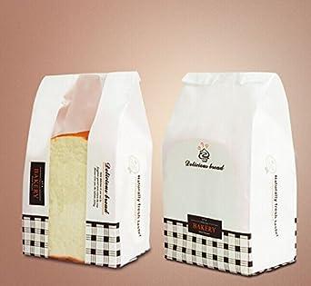 Amazon.com: lltrader Panadería bolsas, bolsas Papel de ...