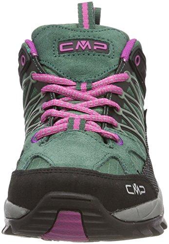 CMP Femme Rigel de borgogna Randonnée Vert Abete Basses Chaussures Campagnolo wfx6qrwS