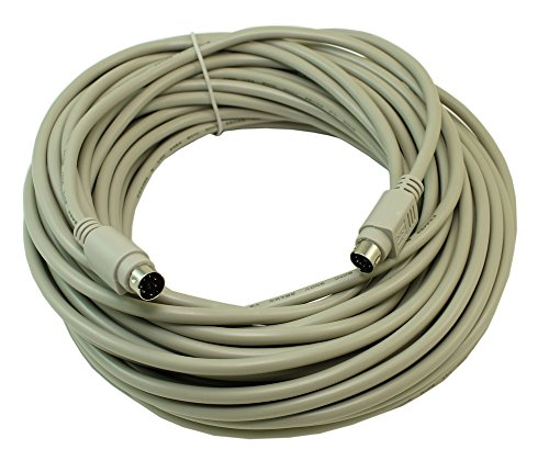 MyCableMart 50ft Mini-Din 6Pin Male to Male for Keyboard or Mouse by My Cable Mart (Image #1)