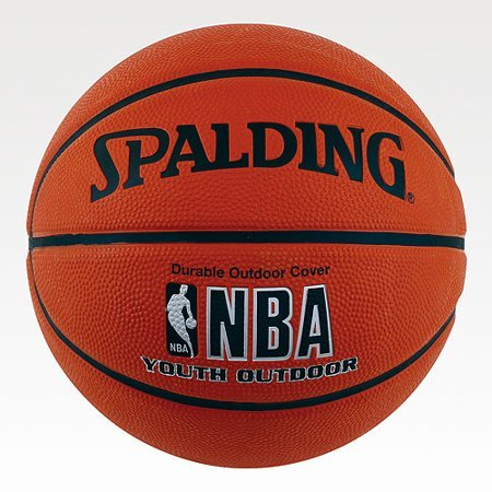 NBA Spalding Official Youth Outdoor Basketball - 27.5 Easy-grip Surface by NBA Spalding Official